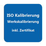 ISO-Kalibrierzertifikat Temperatur -90...-21°C