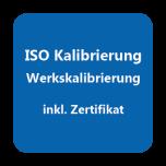 ISO-Kalibrierzertifikat Feuchte 8..95%