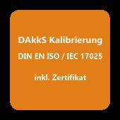 DAkkS-Kalibrierzertifikat Temperatur D.1301