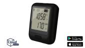EL-WiFi-TH+ WLAN Temperatur-/ Feuchte-Datenlogger, hohe Genauigkeit