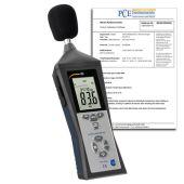 PCE-322 A Schallmessgerät mit Kalibrierzertifikat
