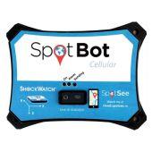 SpotBot Cellular Transportlogger für Stoß und Temperatur