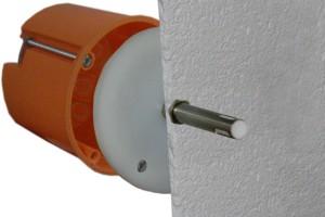 Feuchte-Temperatur-Fühler für Unterputz-Montage