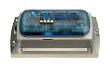 Datenlogger MSR165, eloxiertes Designgehäuse, PC, vergossen, wasserdicht (IP67), mit LiPo-Akku 800 mAh